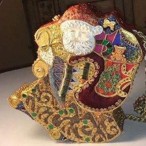Mary Frances Santa bag